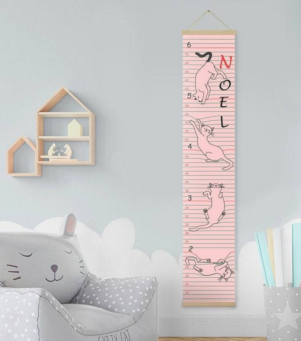 Personalised Cat Child Growth Chart_Slide