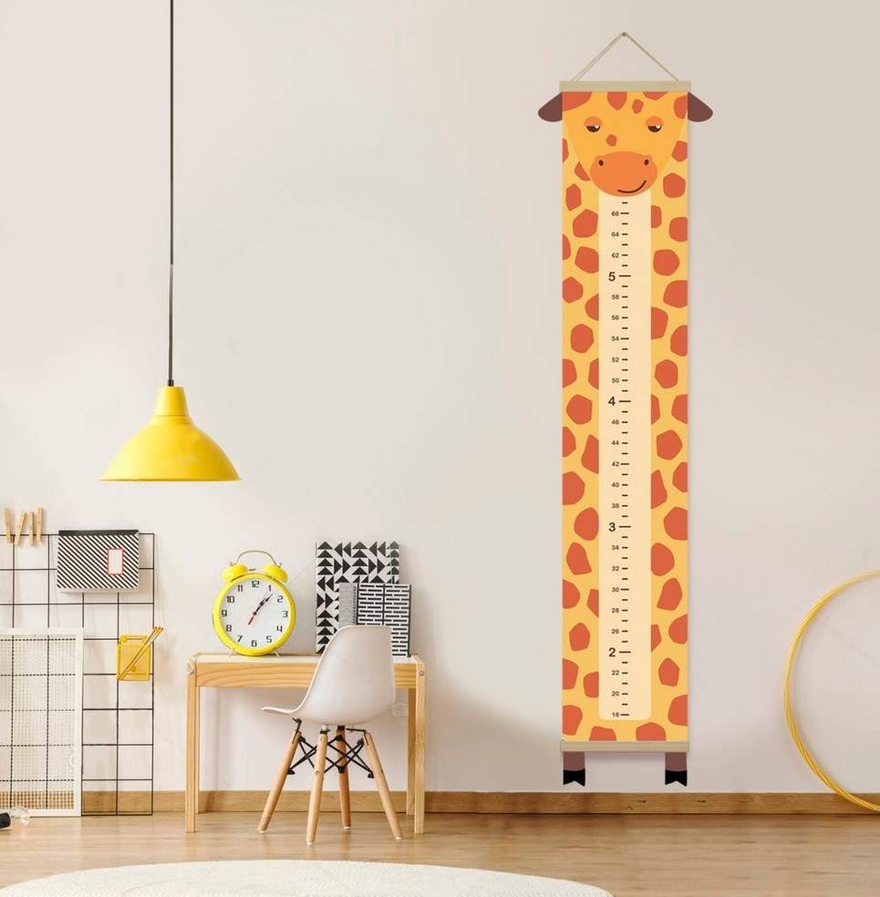 Personalised Giraffe Child Growth Chart