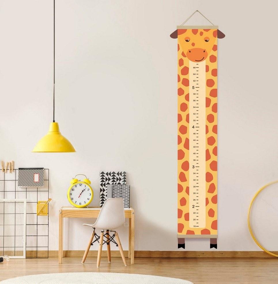 Personalised Giraffe Child Growth Chart
