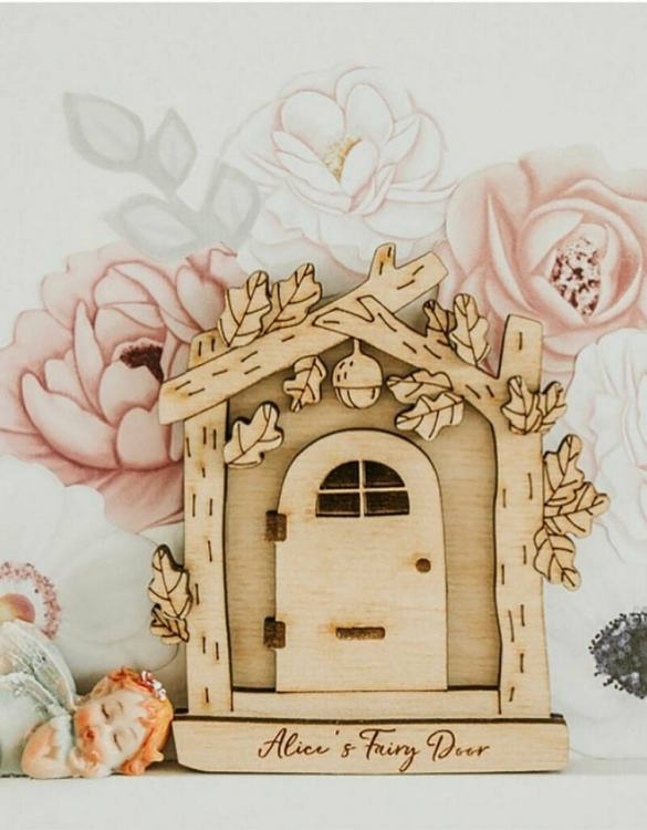 A beautiful way to add some magic into your home, the Personalised Wooden Fairy Door For Children creates a magical environment that will stimulate and delight young minds.