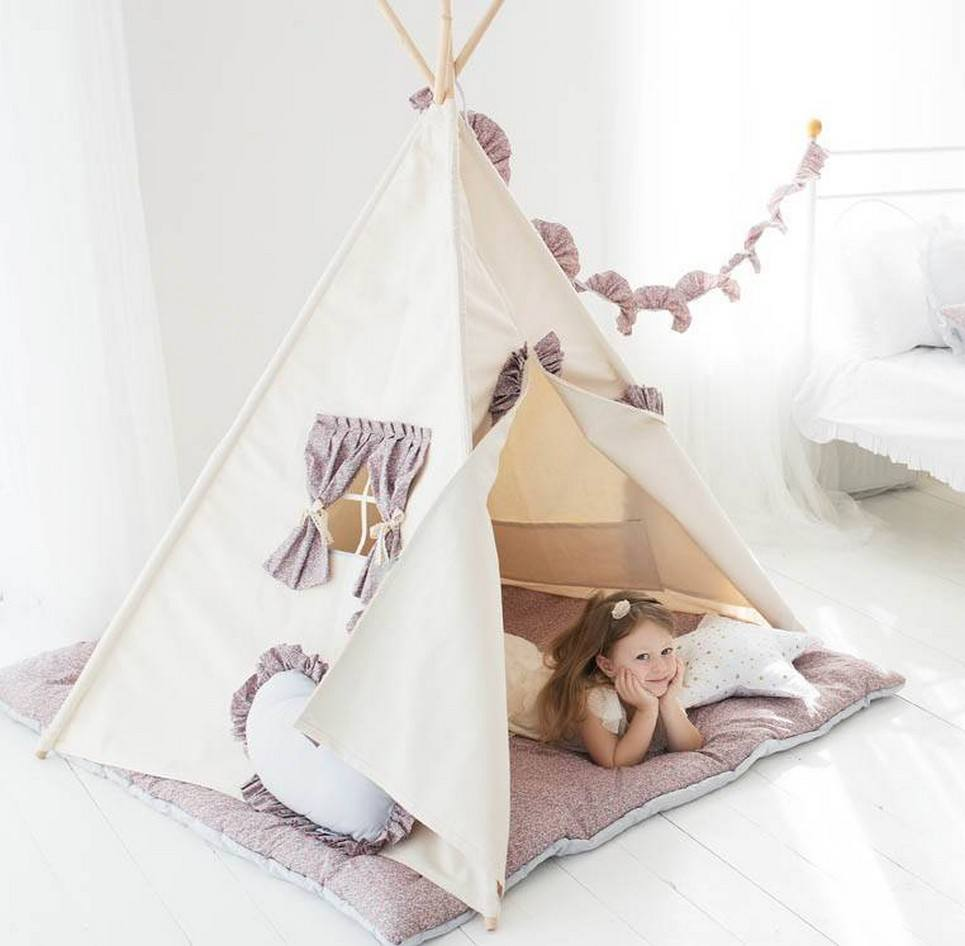 Summer Children's Play Teepee