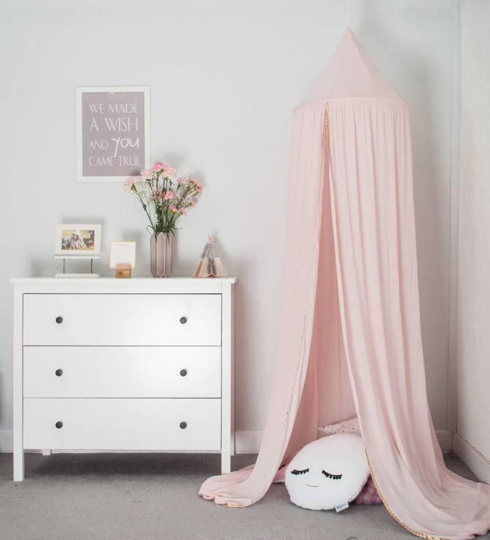 Powder Pink Children's Canopy