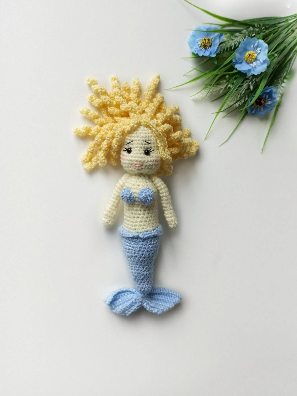 Baby Girl Mermaid Doll