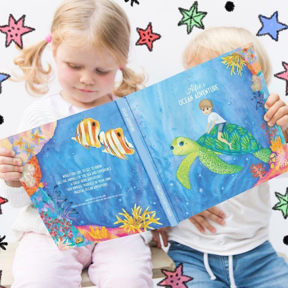 The Ocean Adventure Personalised Story Book