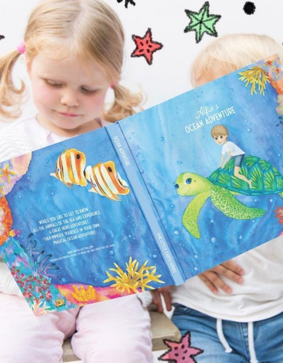 Meet the story book that's about to become your little one's most-requested bedtime read. The Ocean Adventure Personalised Story Book is a very personal and inspiring story that empowers your little one to be brave and daring.