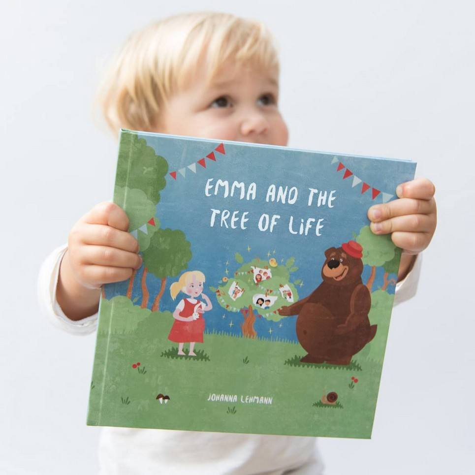 Tree of Life Personalised Story Book