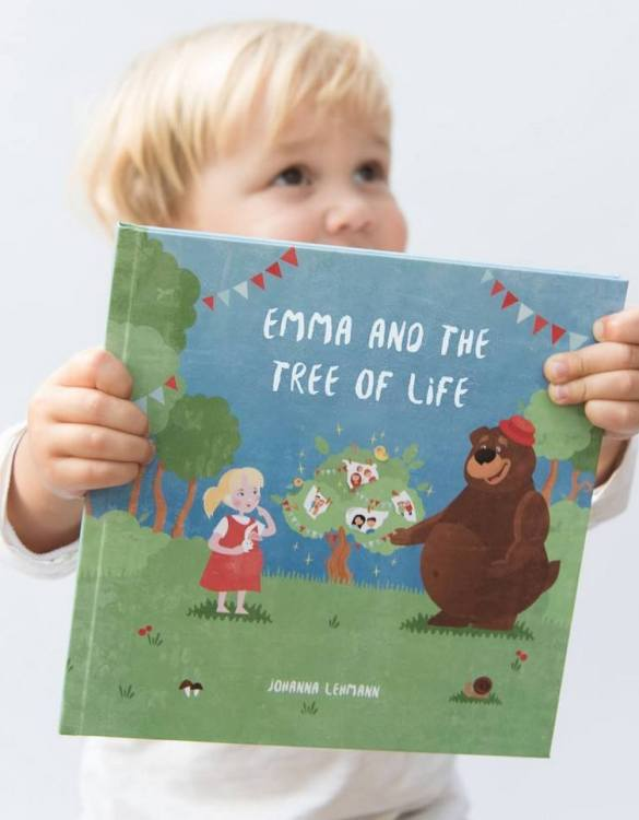 Meet the story book that's about to become your little one's most-requested bedtime read. The Tree of Life Personalised Story Book is a very personal and inspiring story that empowers your little one to be brave and daring.