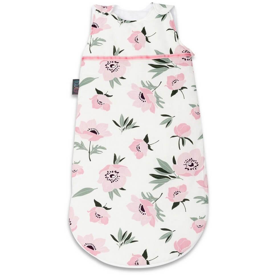 Coral Flowers Baby Sleeping Bag