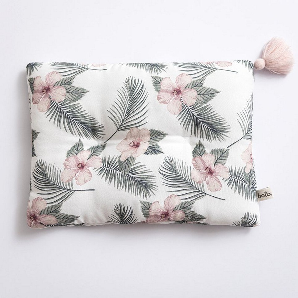 Flowers Bamboo Baby Pillow