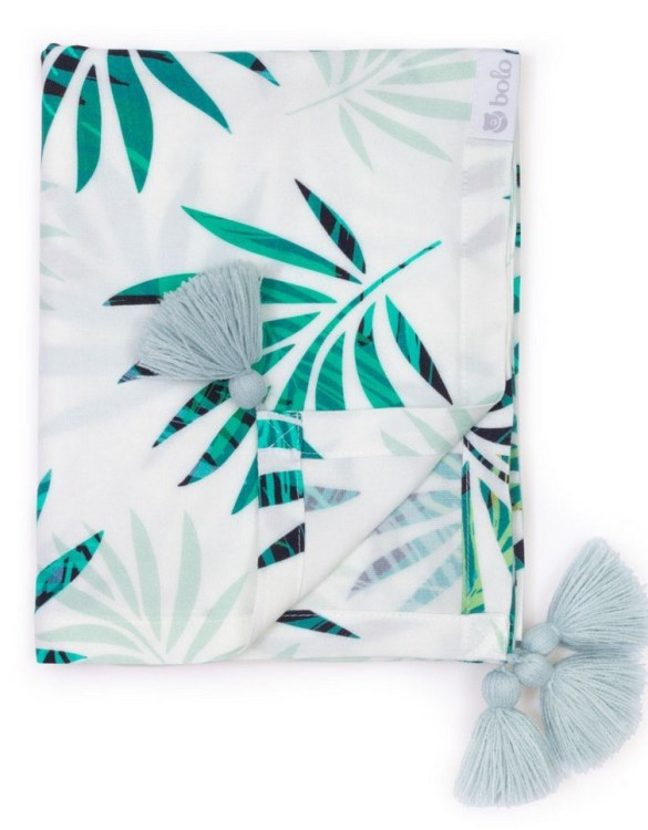 Giving a beautifully soft feel, the Green Leaves Bamboo Swaddle Blanket is a lovely lightweight swaddle blanket for your little one. A gift that's sure to be spotted from all the rest.