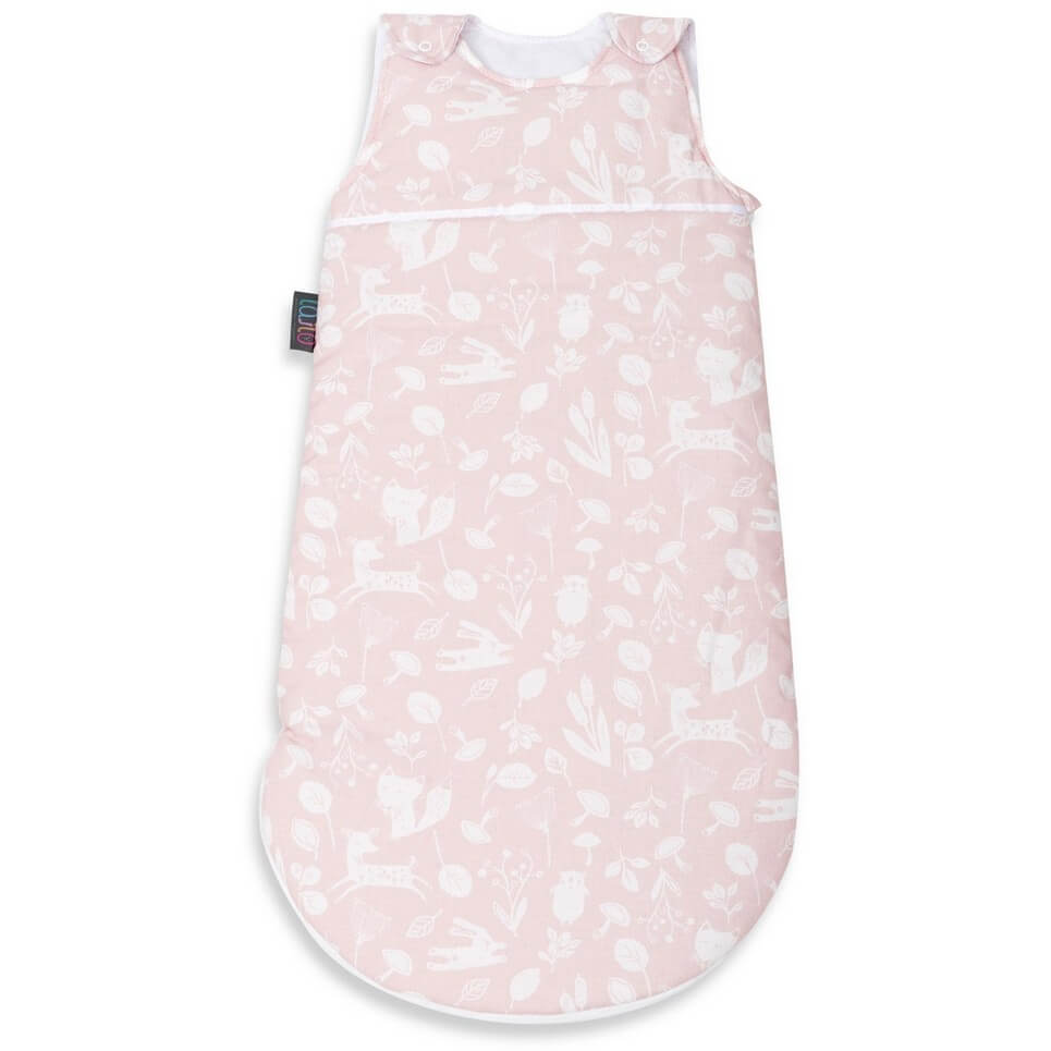 Pink Forest Baby Sleeping Bag