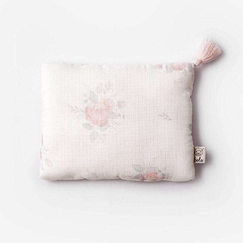 Roses Baby Muslin Pillow
