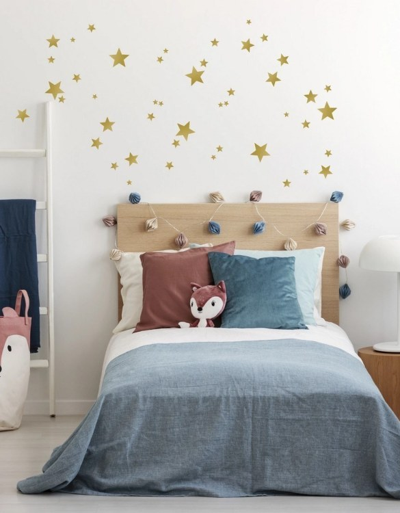 A simple and contemporary gift, the Star Wall Stickers is the perfect finishing touch to a baby's nursery or little girl's nursery bedroom or playroom. Use these lovely wall stickers for bedroom to create a pretty butterfly flutter or garland - running them around beds or over cots.