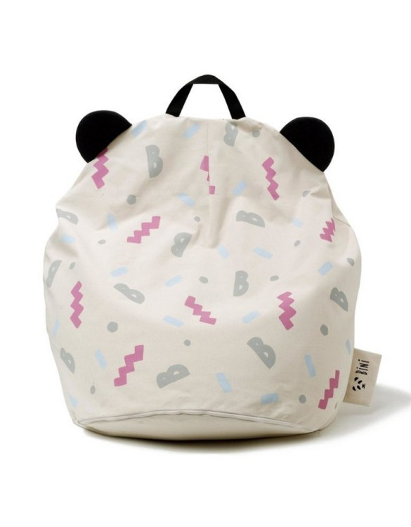 A charming little seat, the Bini B-Girl Kid's Beanbag is an ideal solution to create a custom, stylish space for a children's room, youth room, or even a living room.