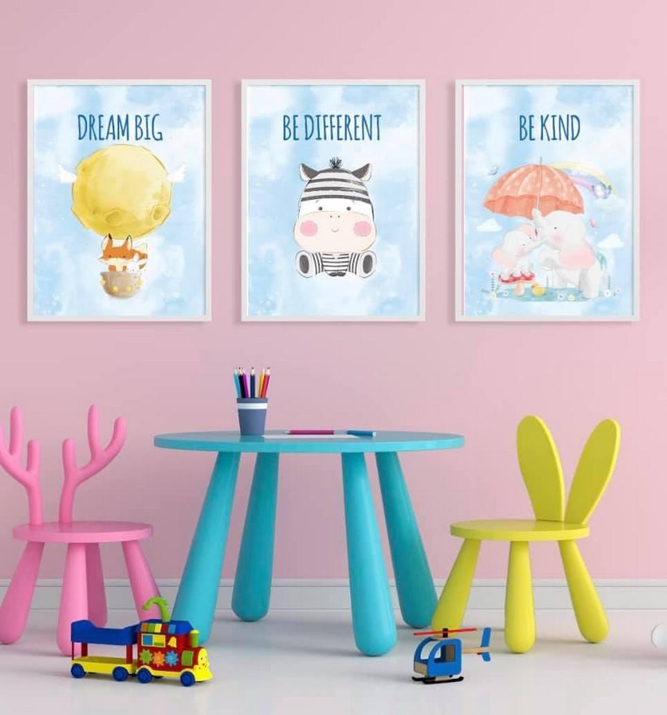 Big Dreams Decorative Children Illustration Set