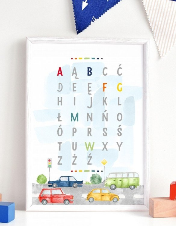 A unique keepsake that will create enchanting memories, the City Alphabet Children's Poster is a really unique and eyecatching print that is loved by kids and adults. Encourage their wild side with this fun print. Designed in a playful font, they will make a great addition to any nursery, child's room, or playroom.
