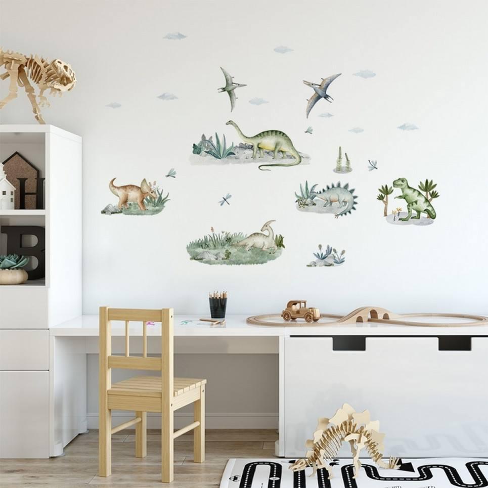 Dinosaur Set Children's Wall Sticker