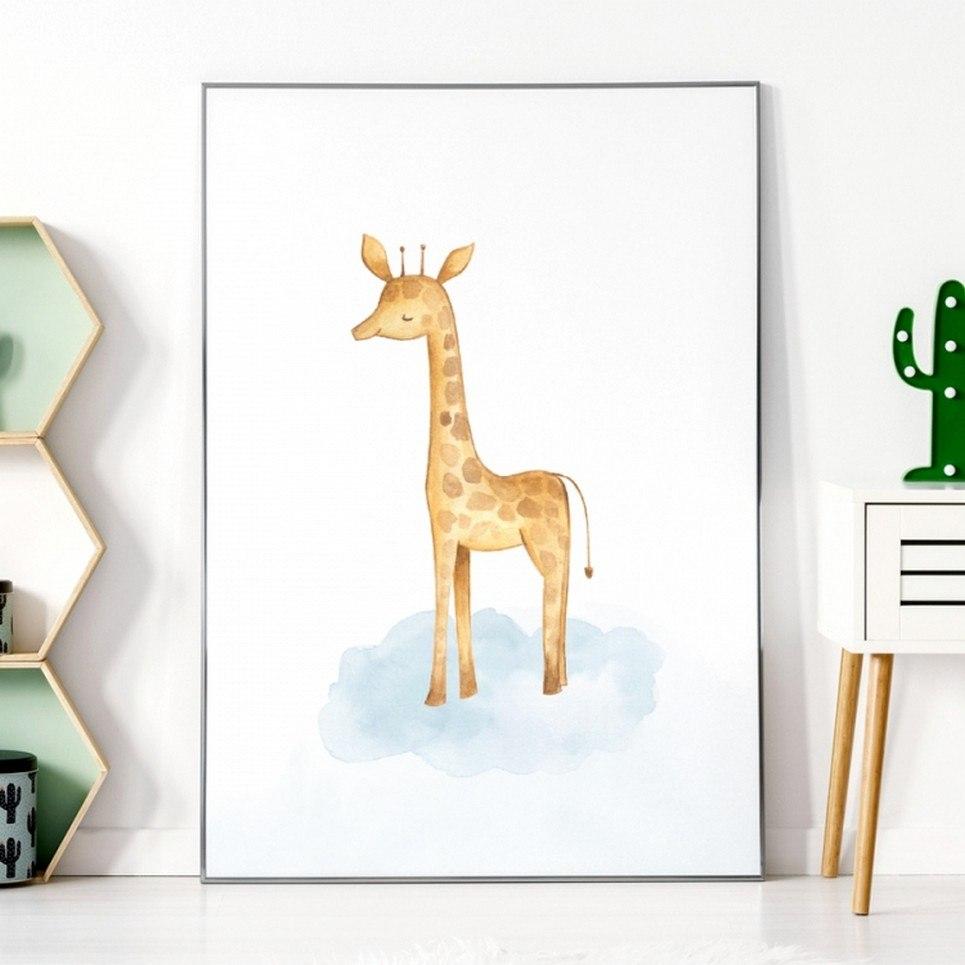 Giraffe Children's Poster