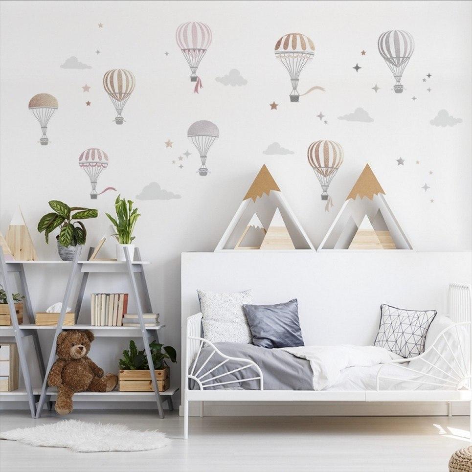 Hot Air Balloon Children's Wall Sticker