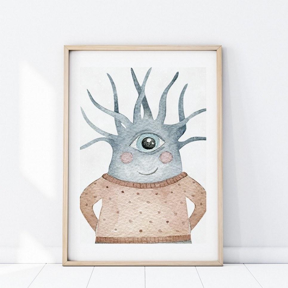 Kedziorek Creature Children's Poster