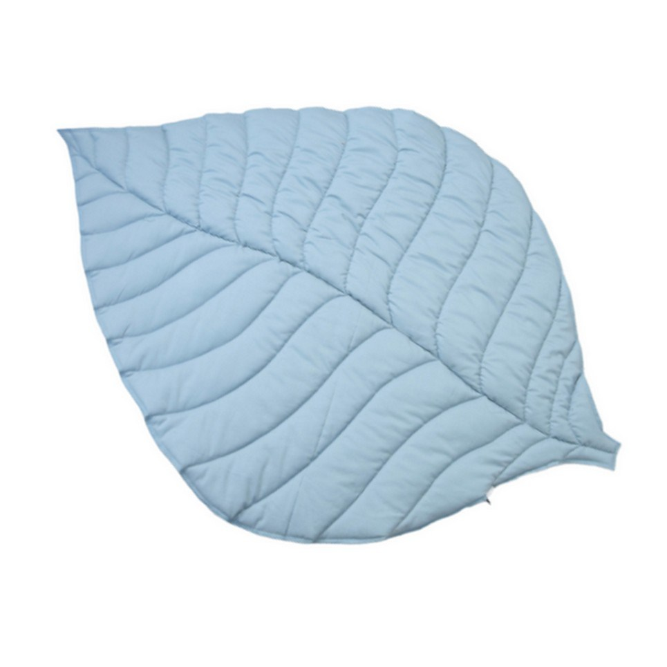 Scandinavian Sky Leaf Play Mat