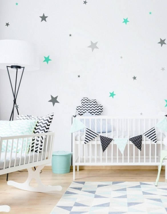 A beautiful scene for children's rooms and nurseries, the Stars 3 Colours Children's Wall Sticker is the perfect addition to any empty space (like walls or furniture). These wall stickers provide a flexible and cost-effective way to decorate your home.