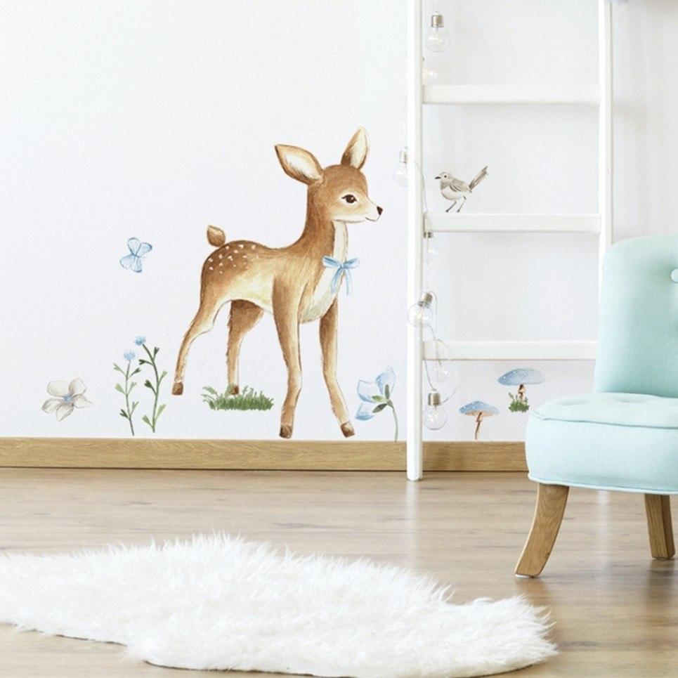 Adorable Deer Children's Wall Sticker