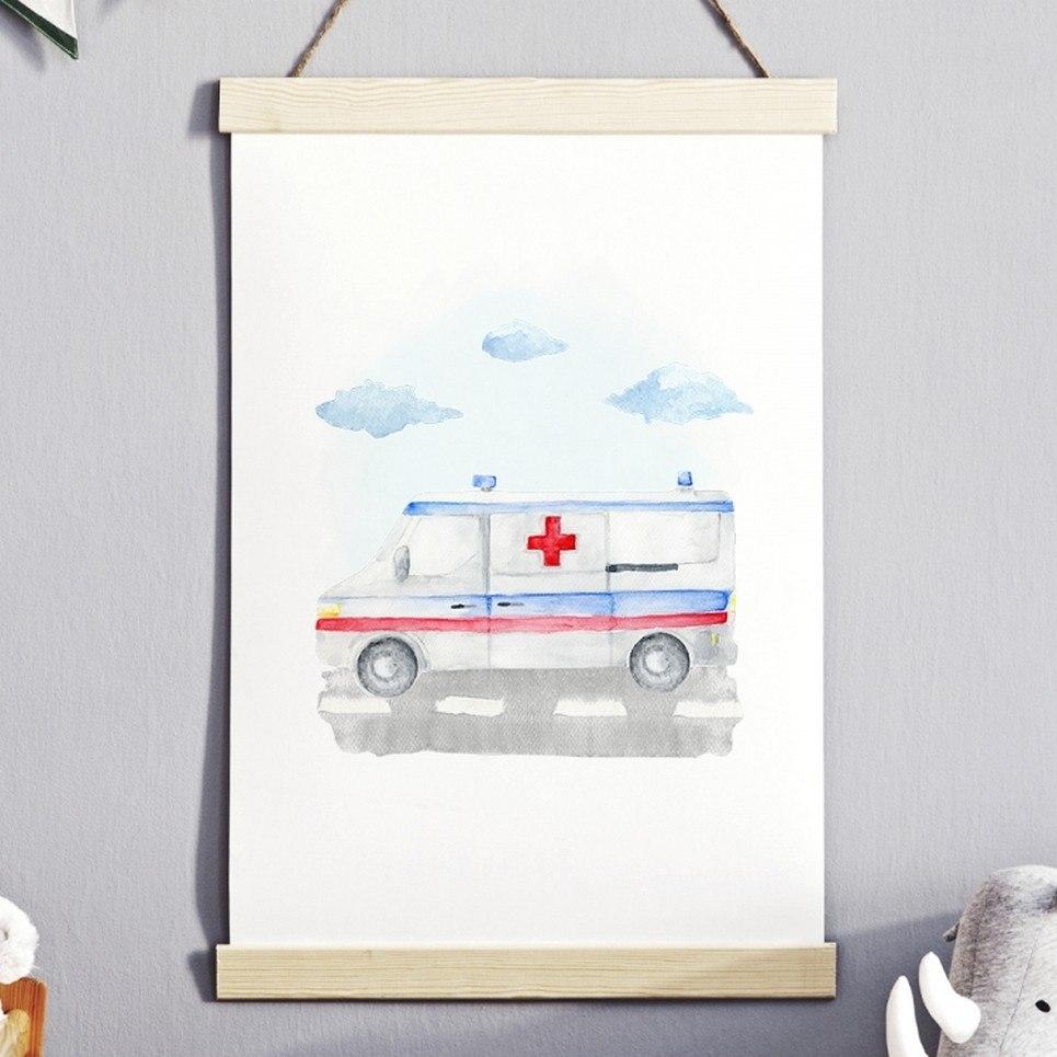 Ambulance Children's Poster