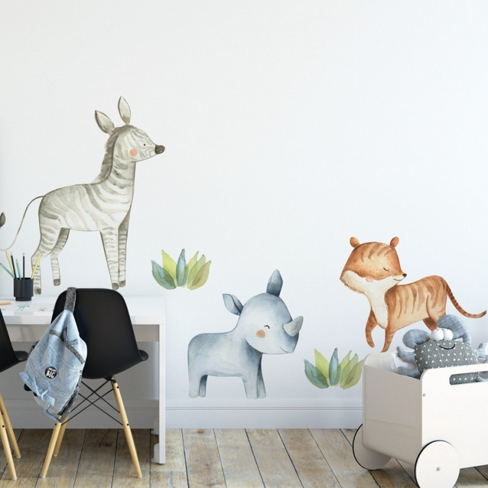 Animals Safari Children's Wall Sticker