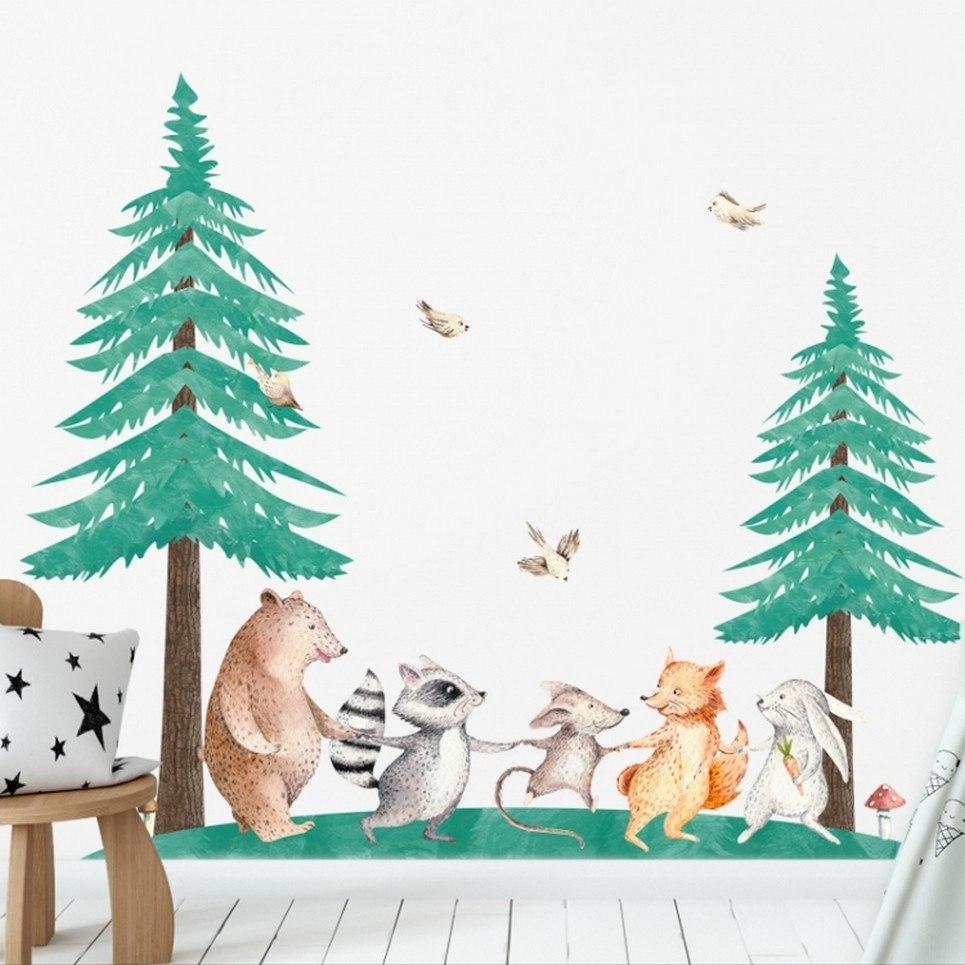 Christmas Trees – Set of 2 Children's Wall Sticker