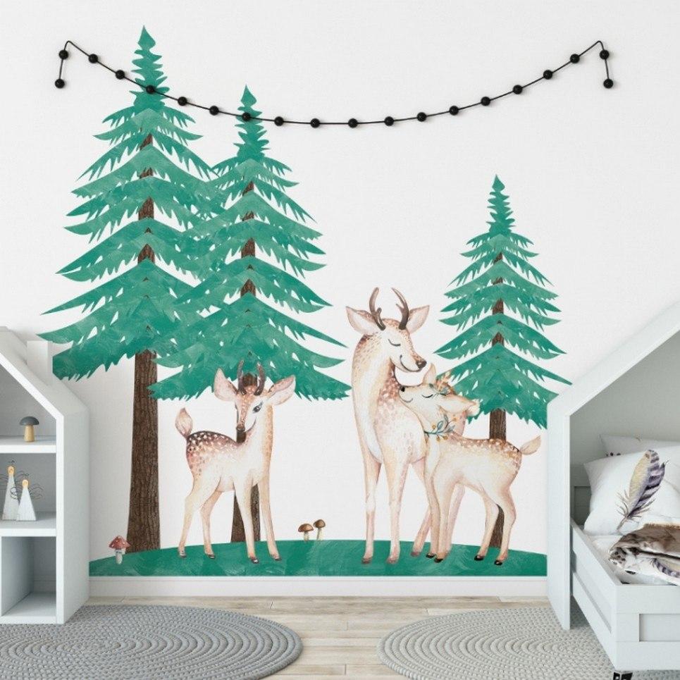 Christmas Trees – Set of 3 Children's Wall Sticker