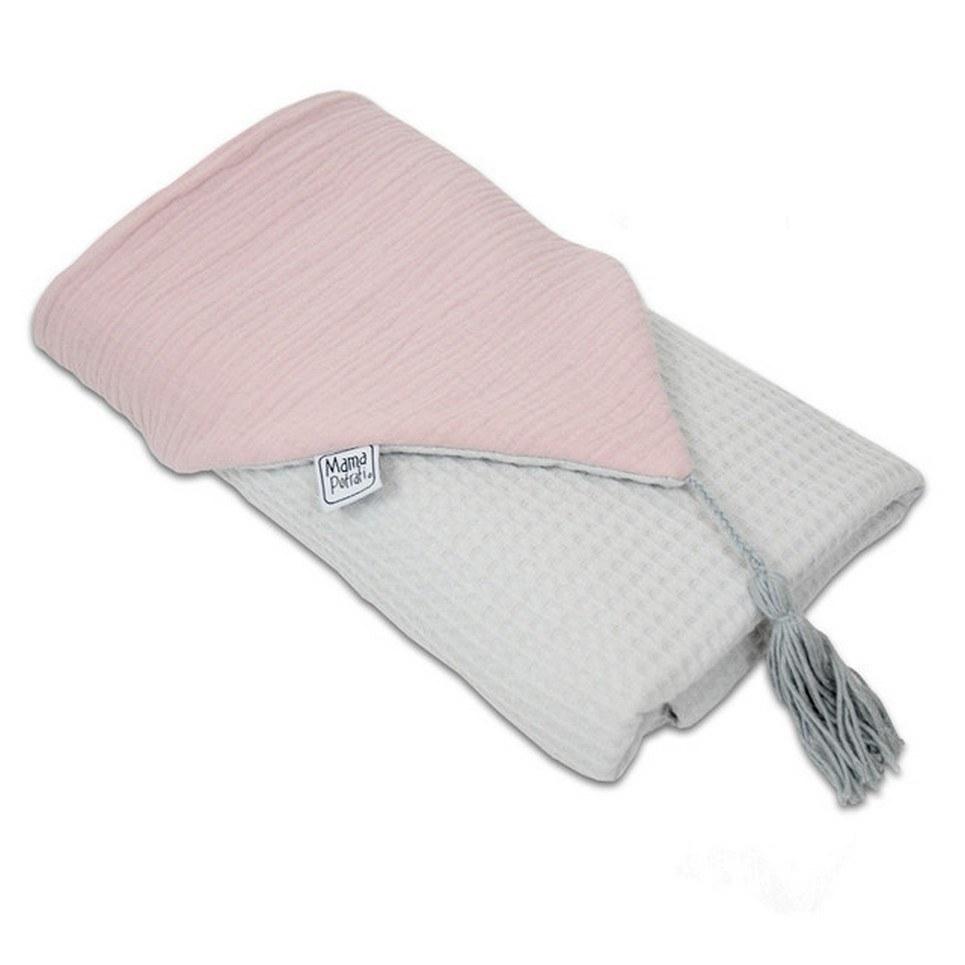 Hooded Towel Powder Pink