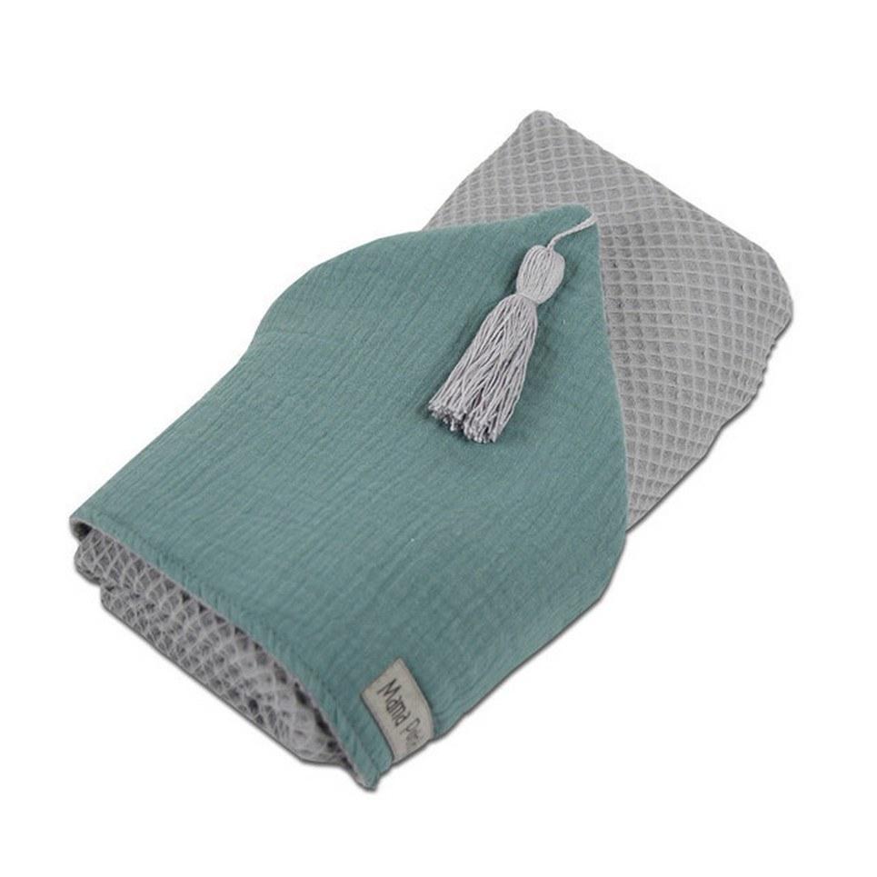Hooded Towel Sage Green