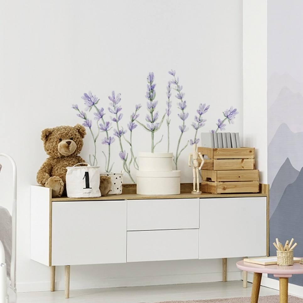 Lavender Children's Wall Sticker
