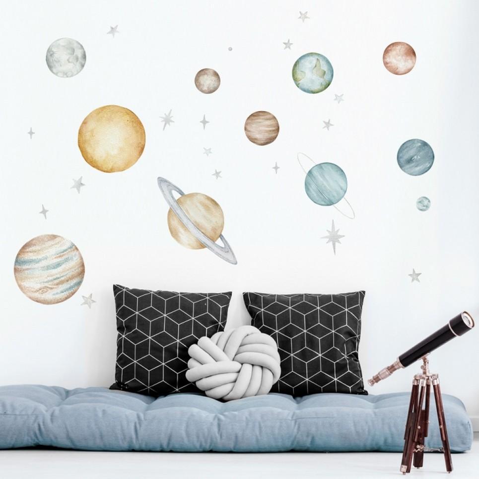 Planets Children's Wall Sticker