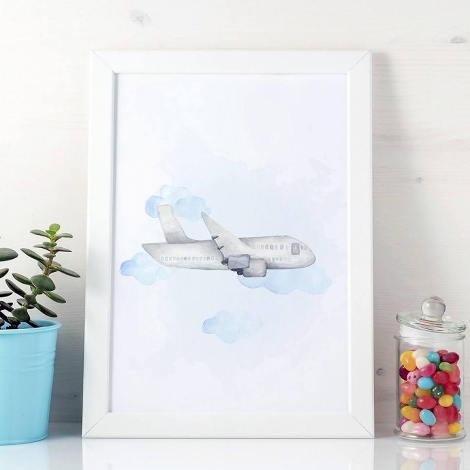 Plane Children's Poster