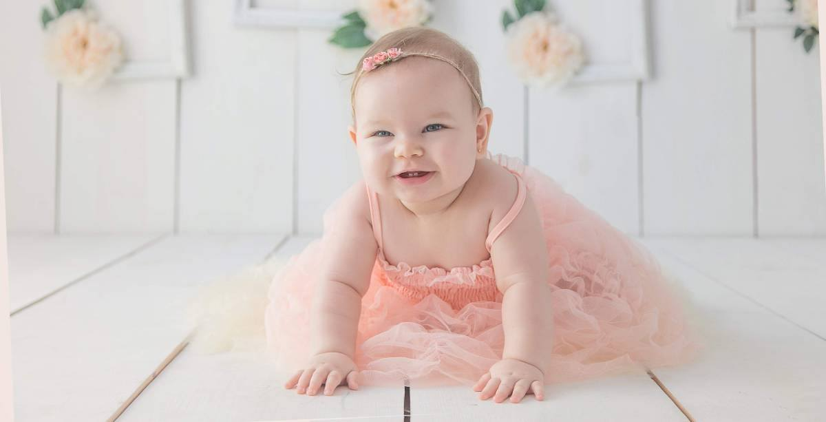 All stages of a baby's growth are beautiful, and one of them is crawling. This is where the real fun begins! After all it is a learning phase not only for baby, but for the whole family.