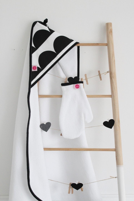 Crescents Baby Bath Towel