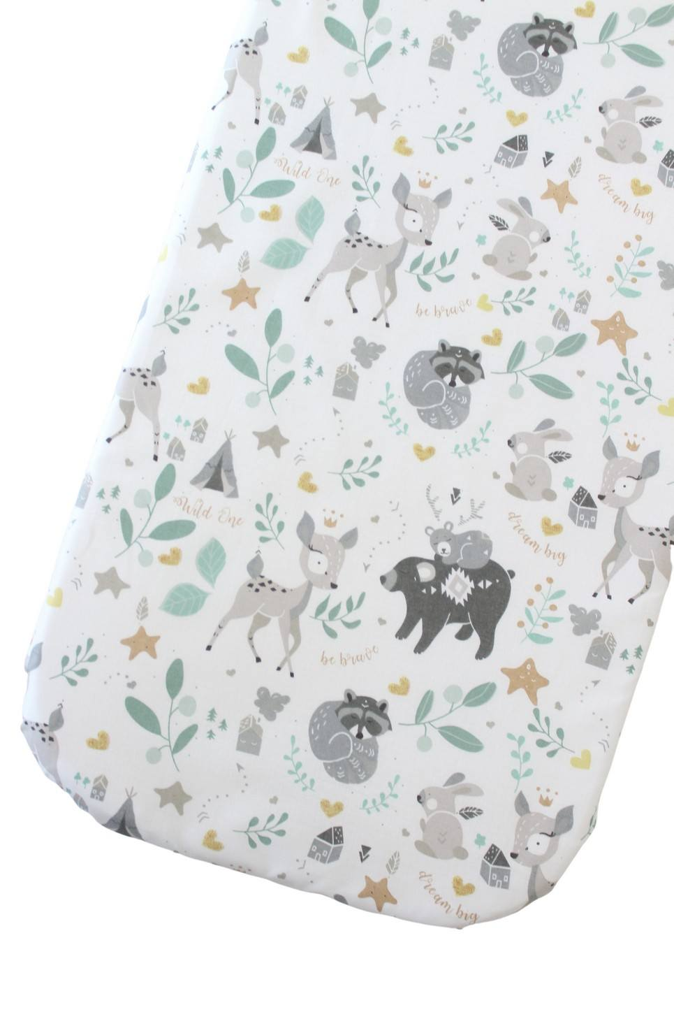 Fawn Fitted Crib Sheet