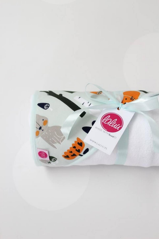 Forest Animals Baby Bath Towel