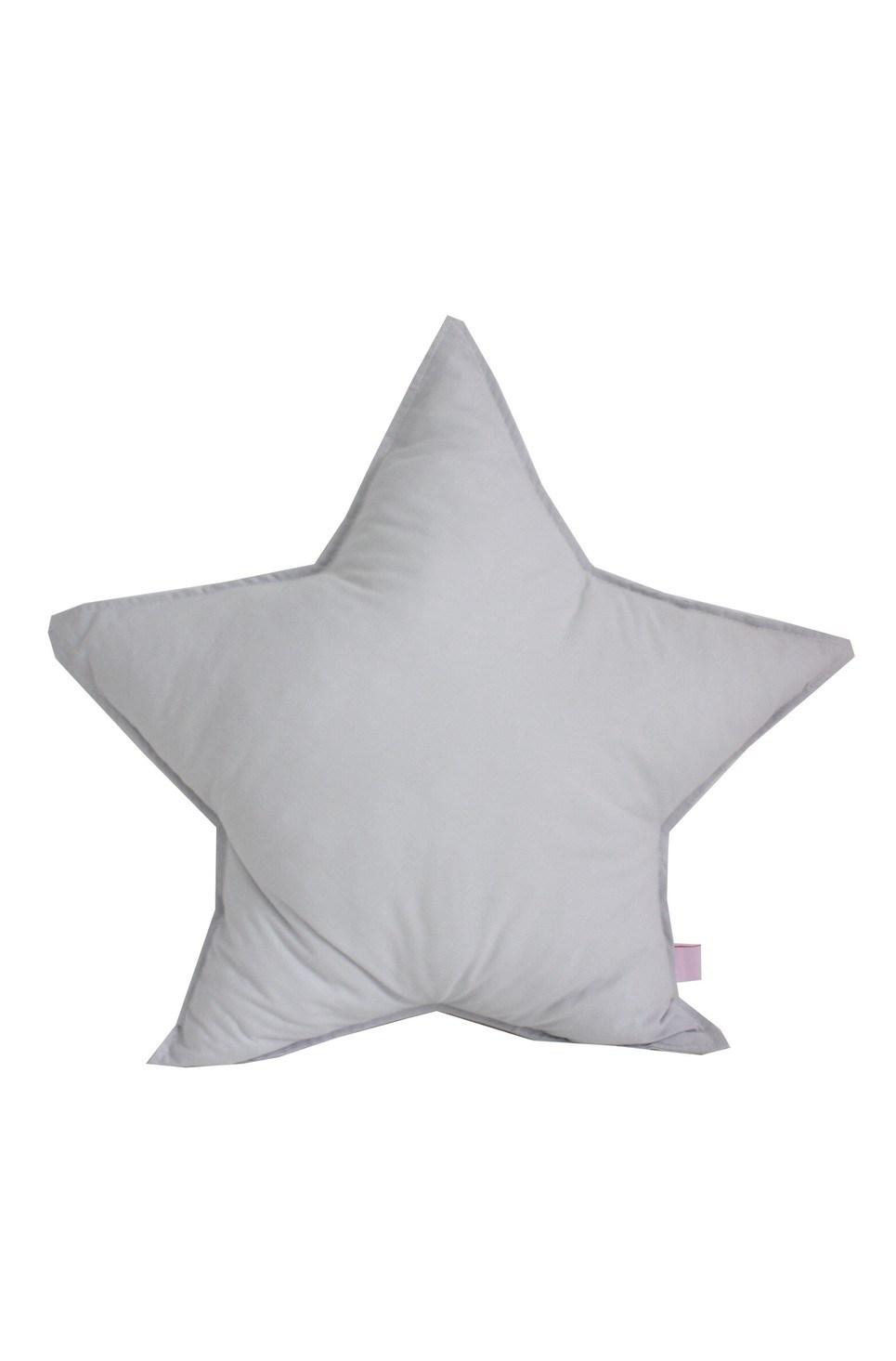 Grey Star Cotton Children's Cushion