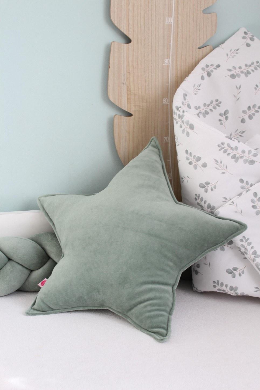 Sage Star Children's Cushion