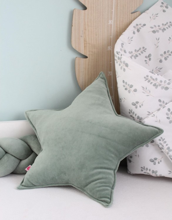 Perfect to bring the child inside everyone, the Sage Star Children's Cushion will add that pop of colour into any kid's bedroom or nursery!