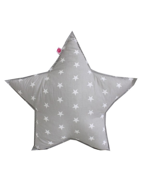 Perfect to bring the child inside everyone, the Stars On Grey Children's Cushion will add that pop of colour into any kid's bedroom or nursery!