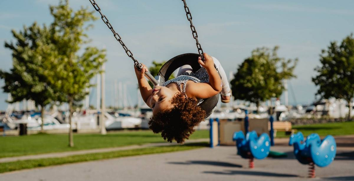 All boys and girls like to swing, to be honest, so do adults. And, of course, your child will be delighted if, in the warm season, you hang personal garden swings for him.