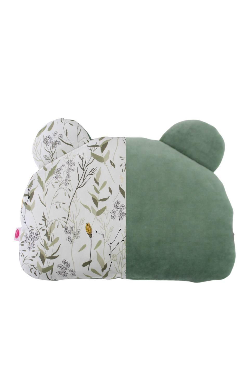 Sage and Meadow Teddy Bear Baby Pillow