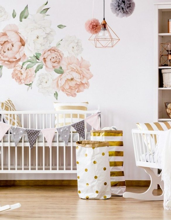 A beautiful scene for children's rooms and nurseries, the Small Peach Peony Children's Wall Sticker is the perfect addition to any empty space (like walls or furniture). These wall stickers provide a flexible and cost-effective way to decorate your home.