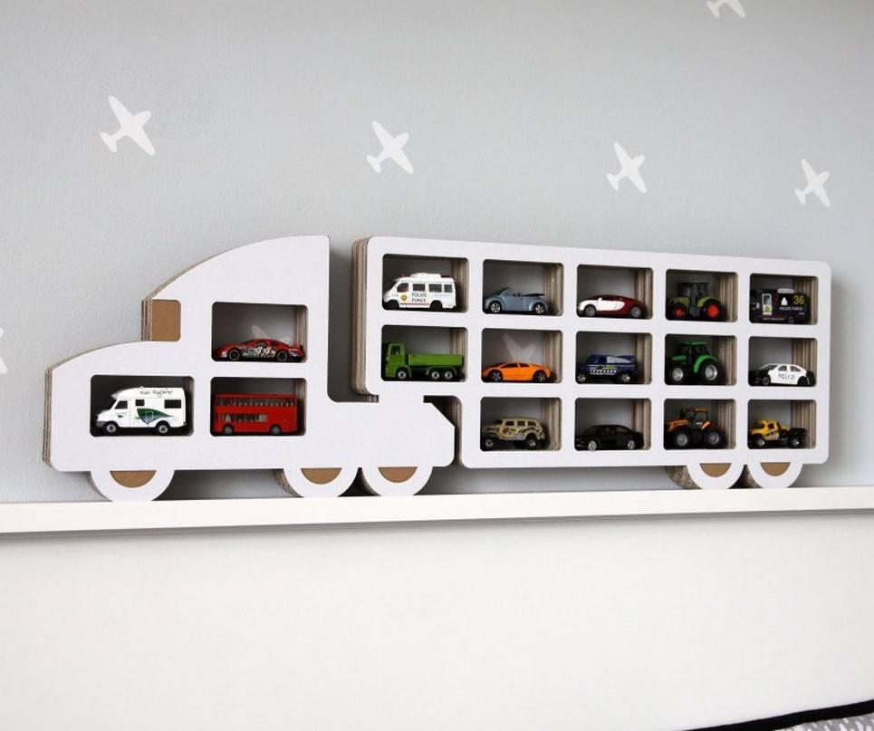 Truck Children's Wall Shelf