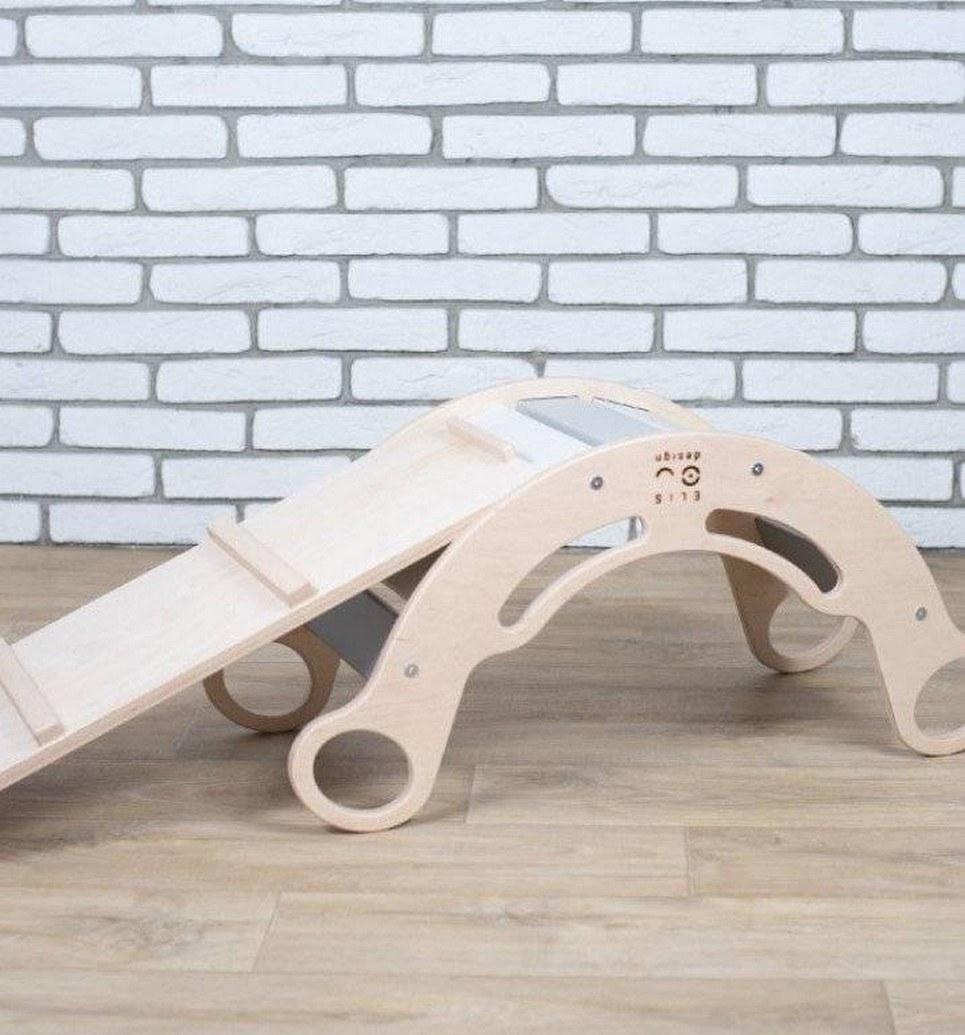 5in1 Natur Rainbow Montessori Balance Board and Plank – 5