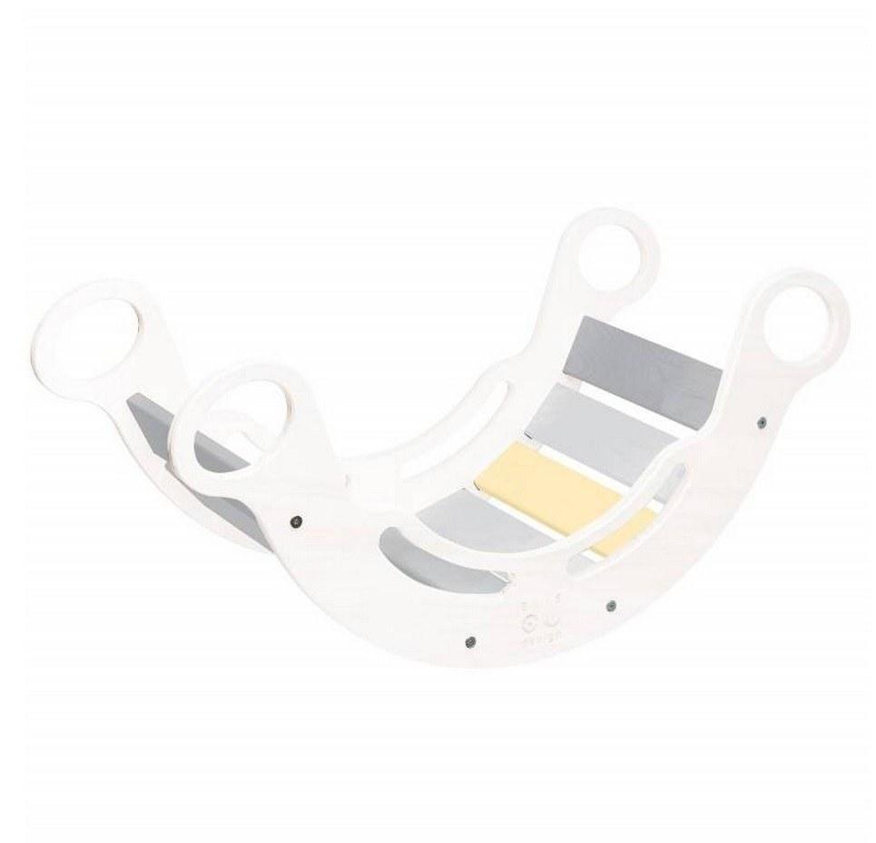 5in1 White with Gray Montessori Balance Board